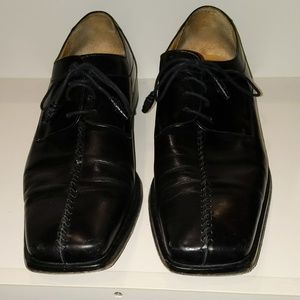 Luxe black dress shoes size 12